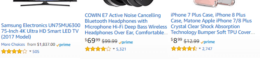 Amazon Product Listing Titles