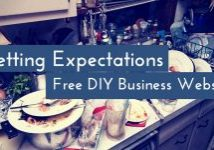 What To Expect With A Free DIY Business Website