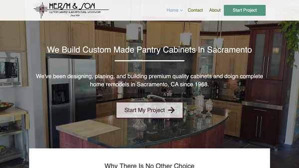 Cabinet Builder Website