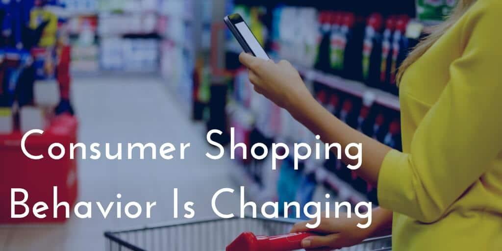 consumer shopping behaviour