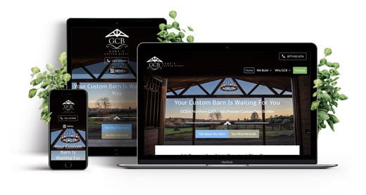 Contractor Custom Responsive Website Showcase - 520