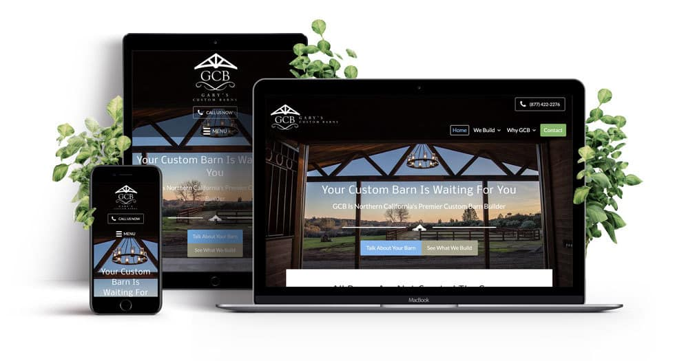 Contractor Custom Responsive Website Showcase - 980
