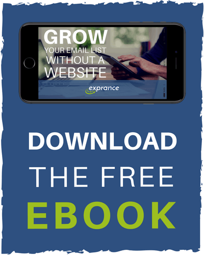 Download the free Grow Your Email List Without a Website eBook Now