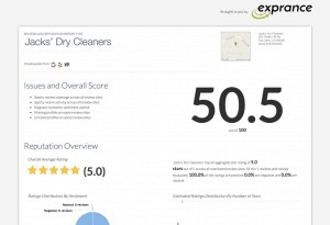 Exprance Review Management Free Online Reviews Scan