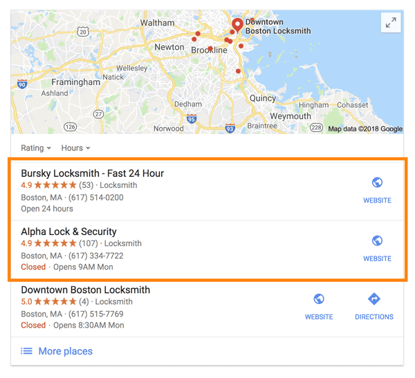Google Search Locksmiths in Boston Primary Choices