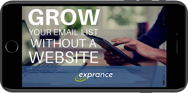 Grow Your Email List Without a Website in a Smartphone
