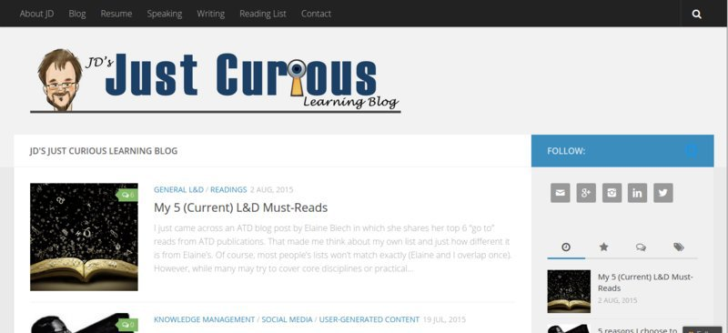 JD's Just Curious Blog