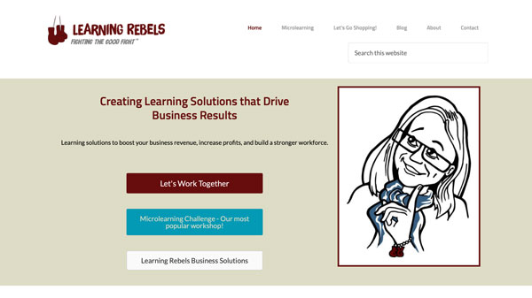 Learning & Development Counsultant & Instructor Website