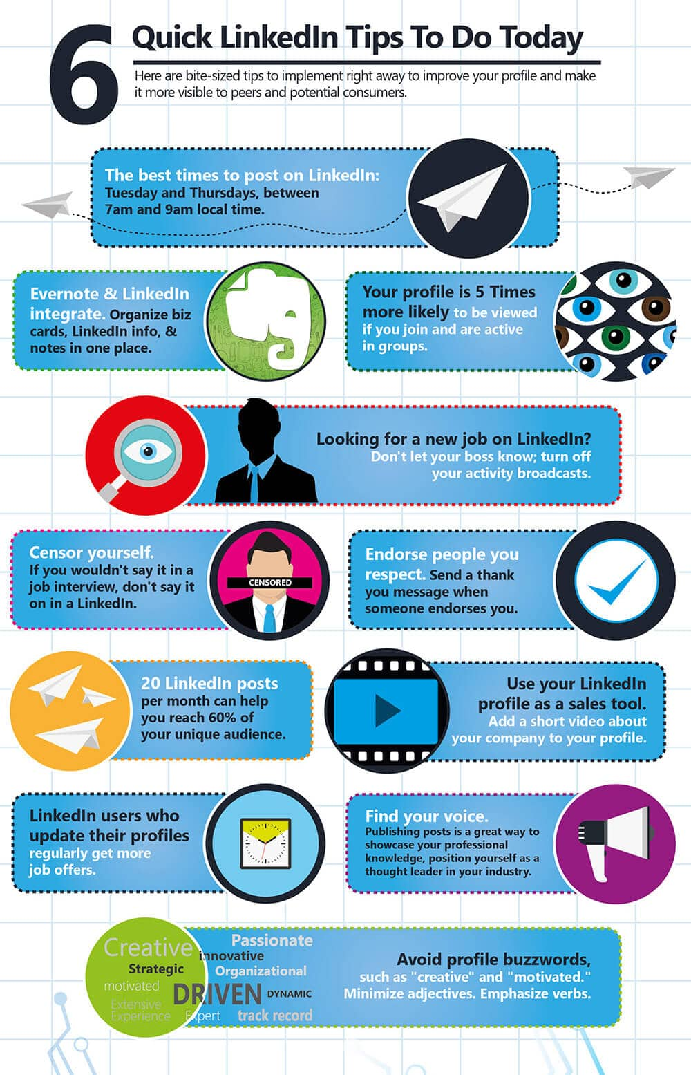 LinkedIn Ultimate Cheat Sheet: A Visual Guide To Achieving LinkedIn Profile Perfection In 7 Steps Part 9