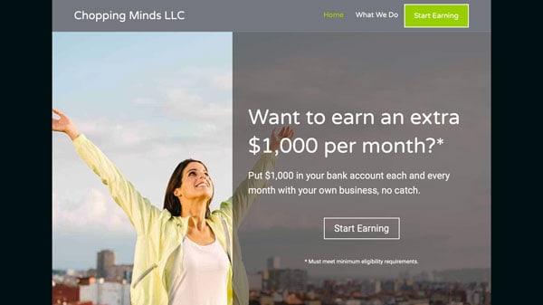 Marketing Funnel Facebook Ads Landing Page