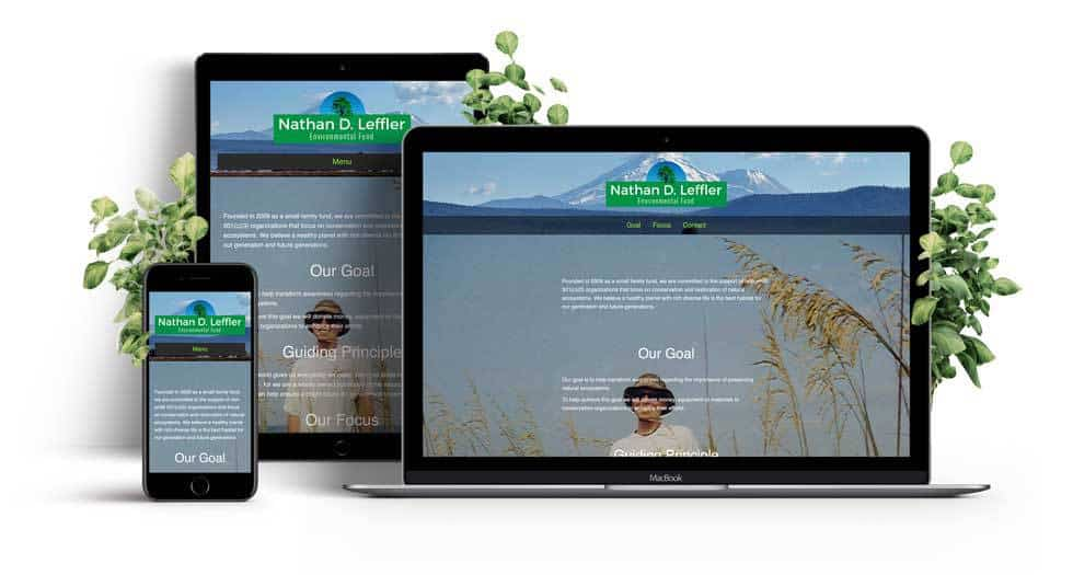 Non-Profit Single Page Responsive Website