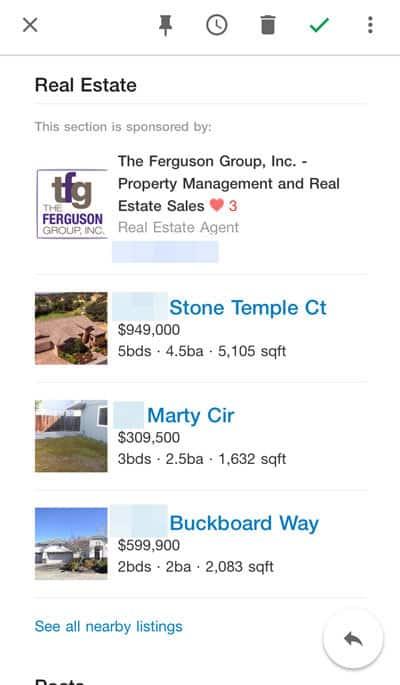 Nextdoor Email Digest Real Estate Ad
