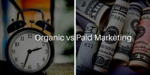 Organic vs Paid Marketing: Where you should invest your money.