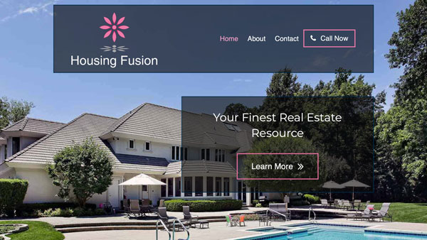 Real Estate Consultant Website