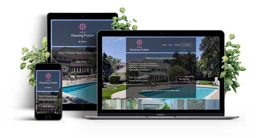 Real Estate Consultant Responsive Website Showcase