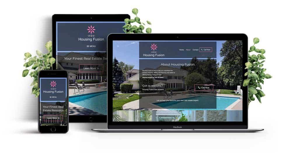 Real Estate Consultant Responsive Website Showcase