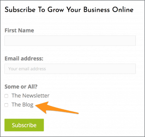 Subscribe to The Online Presence Blog
