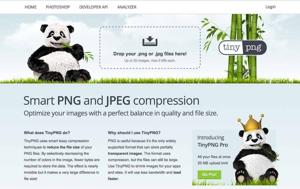 Tiny PNG Website